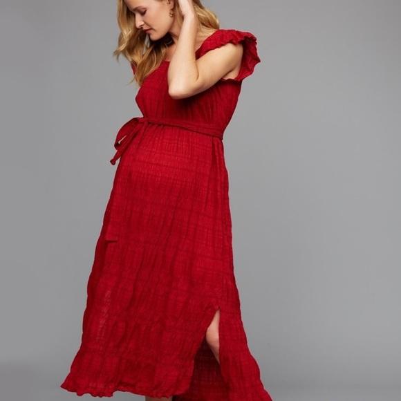 A Pea In The Pod Dresses Odin Ivy Maternity Summer Dress Poshmark